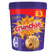Cadbury Crunchie Ice Cream Tub
