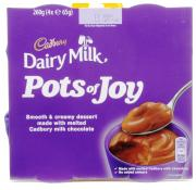 Cadbury Pots Of Joy Dairy Milk