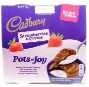 Cadbury Pots Of Joy Limited Edition Stawberries and Creme