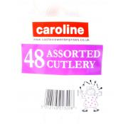 Caroline Assorted Plastic Cutlery