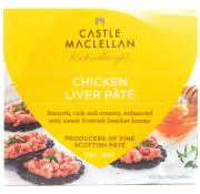 Castle Maclellan Chicken Liver Pate With Scottish Heather Honey