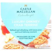Castle Maclellan Luxury Orkney Crab Terrine