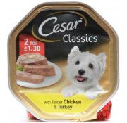 Cesar Chicken and Turkey