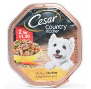 Cesar Country Kitchen Chicken & Vegetable