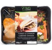 Chefs Cuisine Turkey and Gammon Carvery Dinner