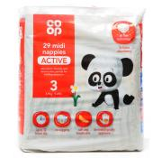 Co Op 27 Midi Nappies Active Size 3