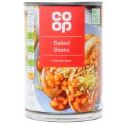 Co Op Baked Beans In Tomato Sauce