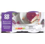 Co Op Blackcurrant Cheesecakes