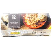 Co Op Bramley Apple Crumbles