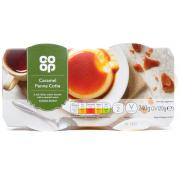 Co Op Caramel Panna Cotta