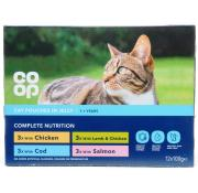 Co Op Cat Pouches Tasty Chunks In Jelly Selection Pouches