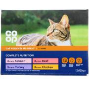 Co Op Cat Pouches Tasty Chunks In Gravy Selection