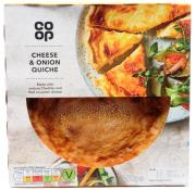 Co Op Cheese and Onion Quiche