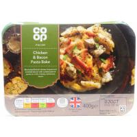 Co Op Italian Chicken and Bacon Pasta Bake image