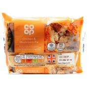 Co Op Chicken and Mushroom Pie