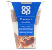 Co Op Chocolate Sundae