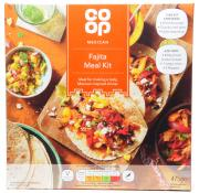 Co Op Fajita Meal Kit