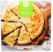 Co Op Thin and Crispy Garlic Bread with Cheese