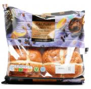 Co Op Irresistible Fruited Hot Cross Buns