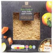 Co Op Irresistible Sticky Toffee Apple Crumble