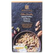 Co Op Irresistible Salted Toffee and Pecan Granola