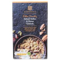 Co Op Irresistible Salted Toffee and Pecan Granola image
