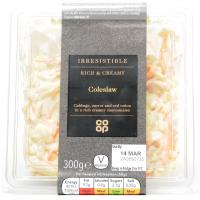 Co Op Irresistible Rich and Creamy Coleslaw image
