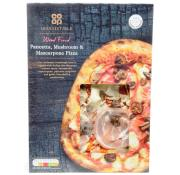 Co Op Irresistible Pancetta Mushroom and Mascarpone Pizza