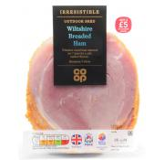 Co Op Irresistible Outdoor Bred Wiltshire Breaded Ham