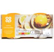 Co Op Lemon Cheesecakes