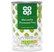 Co Op Marrowfat Processed Peas