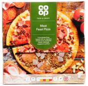Co Op Thin and Crispy Meat Feast Pizza