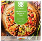 Co Op Mediterranean Vegetable Pizza