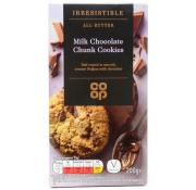 Co Op Irresistible Milk Chocolate Chunk Cookies