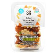 Co Op Baked Oriental Rice Crackers