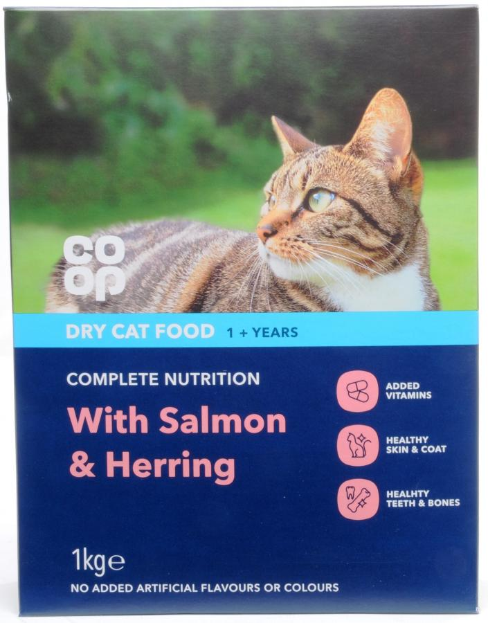 Dike Son Co Op Cat Dry Cat Food With Salmon Shrimp And