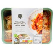 Co Op Tomato And Mozzarella Pasta Bake