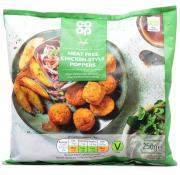 Co Op Vegan Meat Free Chicken Style Poppers