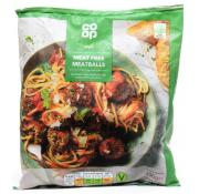 Co Op Vegan Meat Free Meatballs