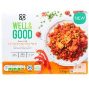 Co Op Well and Good Chicken and Vegetable Paella