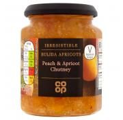 Co Op Irresistible Peach and Apricot Chutney