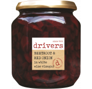 Drivers Beetroot & Red Onion in White Wine Vinegar