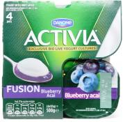 Activia Fusions Blueberry
