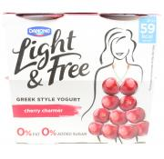 Danone Light and Free Cherry