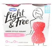 Danone Light and Free Raspberry