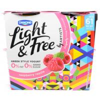 Danone Light and Free Raspberry Razzle image