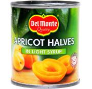 Delmonte Apricot Halves in Light Syrup