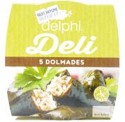 Delphi 5 Dolmades (Stuffed Vine Leaves)