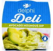 Delphi Fresh Avocado And Houmous Dip