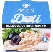 Delphi Fresh Black Olive  And Houmous